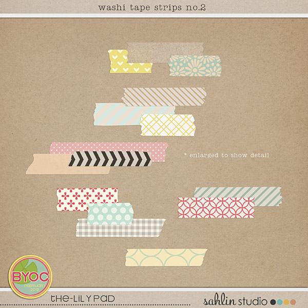 Washi Tape Strips no. 2