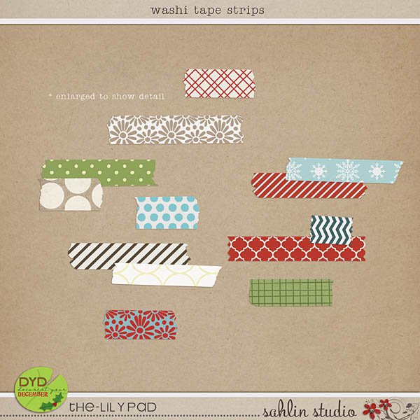 Washi Tape Strips