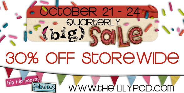 quarterly sale