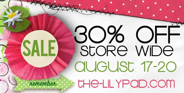 The LilyPad StoreWide SALE